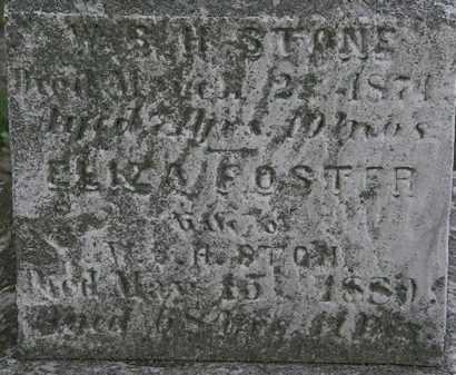 STONE, W.B.H - Erie County, Ohio | W.B.H STONE - Ohio Gravestone Photos