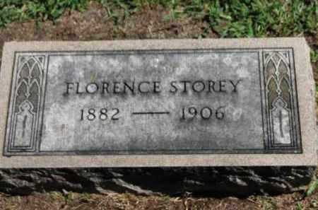STOREY, FLORENCE - Erie County, Ohio | FLORENCE STOREY - Ohio Gravestone Photos