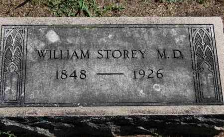 STOREY, WILLIAM - Erie County, Ohio | WILLIAM STOREY - Ohio Gravestone Photos