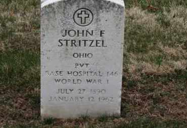 STRITZEL, JOHN F. - Erie County, Ohio | JOHN F. STRITZEL - Ohio Gravestone Photos