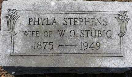 STUBIG, PHYLA - Erie County, Ohio | PHYLA STUBIG - Ohio Gravestone Photos
