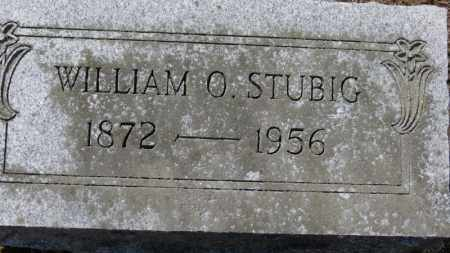 STUBIG, WILLIAM O. - Erie County, Ohio | WILLIAM O. STUBIG - Ohio Gravestone Photos
