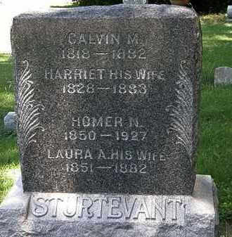 STURTEVANT, HOMER N. - Erie County, Ohio | HOMER N. STURTEVANT - Ohio Gravestone Photos