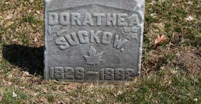 SUCKOW, DORTHEA - Erie County, Ohio | DORTHEA SUCKOW - Ohio Gravestone Photos