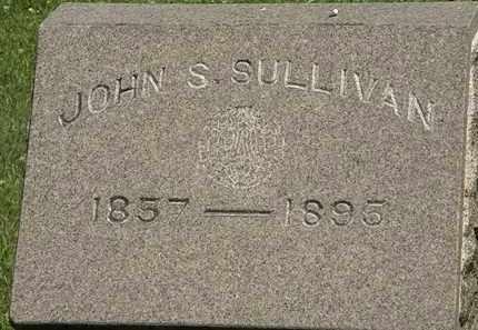 SULLIVAN, JOHN S. - Erie County, Ohio | JOHN S. SULLIVAN - Ohio Gravestone Photos