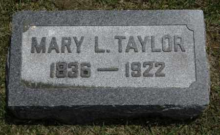TAYLOR, MARY L. - Erie County, Ohio | MARY L. TAYLOR - Ohio Gravestone Photos