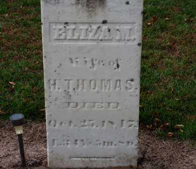 THOMAS, ELIZA M. - Erie County, Ohio | ELIZA M. THOMAS - Ohio Gravestone Photos