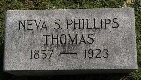 THOMAS, NEVA S. - Erie County, Ohio | NEVA S. THOMAS - Ohio Gravestone Photos