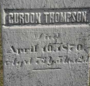 THOMPSON, GORDON - Erie County, Ohio | GORDON THOMPSON - Ohio Gravestone Photos