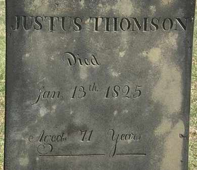 THOMSON, JUSTUS - Erie County, Ohio | JUSTUS THOMSON - Ohio Gravestone Photos
