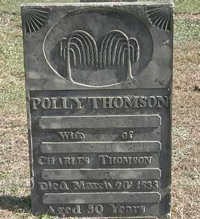 THOMSON, POLLY - Erie County, Ohio | POLLY THOMSON - Ohio Gravestone Photos