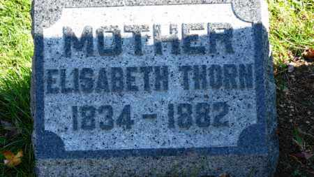 THORN, ELISABETH - Erie County, Ohio | ELISABETH THORN - Ohio Gravestone Photos