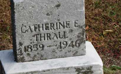 THRALL, CATHERINE E. - Erie County, Ohio | CATHERINE E. THRALL - Ohio Gravestone Photos