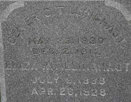 TILLINGHAST, OLIVER C. - Erie County, Ohio | OLIVER C. TILLINGHAST - Ohio Gravestone Photos