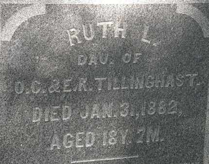 TILLINGHAST, RUTH L. - Erie County, Ohio | RUTH L. TILLINGHAST - Ohio Gravestone Photos