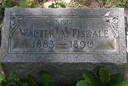 TISDALE, WALTER A. - Erie County, Ohio | WALTER A. TISDALE - Ohio Gravestone Photos