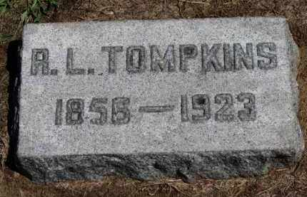TOMPKINS, A.L. - Erie County, Ohio | A.L. TOMPKINS - Ohio Gravestone Photos