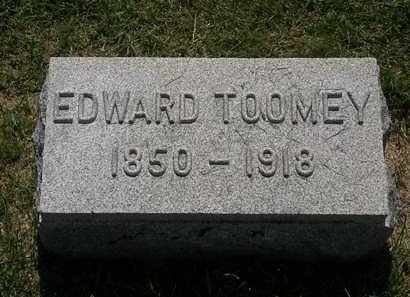 TOOMEY, EDWARD - Erie County, Ohio | EDWARD TOOMEY - Ohio Gravestone Photos