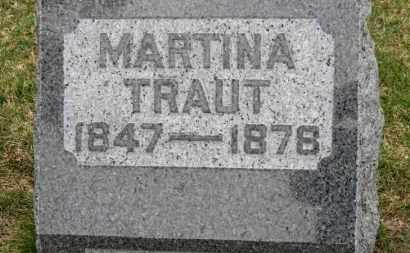 TRAUT, MARTINA - Erie County, Ohio | MARTINA TRAUT - Ohio Gravestone Photos