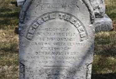 TREGER, GEORGE - Erie County, Ohio | GEORGE TREGER - Ohio Gravestone Photos