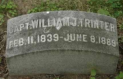 TRINTER, CAPT. WILLIAM J. - Erie County, Ohio | CAPT. WILLIAM J. TRINTER - Ohio Gravestone Photos
