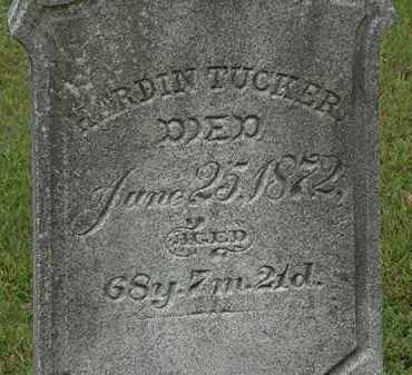 TUCKER, HARDIN - Erie County, Ohio | HARDIN TUCKER - Ohio Gravestone Photos