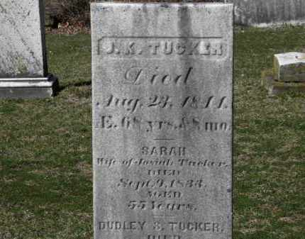 TUCKER, SARAH - Erie County, Ohio | SARAH TUCKER - Ohio Gravestone Photos
