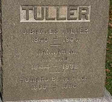TULLER, HOWARD B. - Erie County, Ohio | HOWARD B. TULLER - Ohio Gravestone Photos