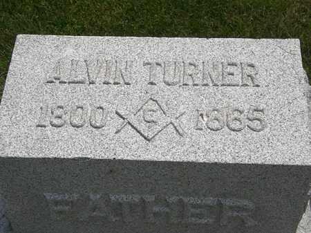 TURNER, ALVIN - Erie County, Ohio | ALVIN TURNER - Ohio Gravestone Photos