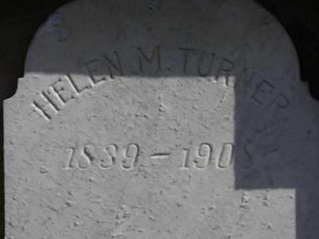 TURNER, HELEN M. - Erie County, Ohio | HELEN M. TURNER - Ohio Gravestone Photos