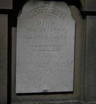 TURNER, HANNAH - Erie County, Ohio | HANNAH TURNER - Ohio Gravestone Photos
