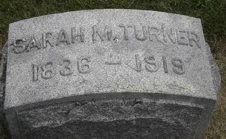 TURNER, SARAH M. - Erie County, Ohio | SARAH M. TURNER - Ohio Gravestone Photos