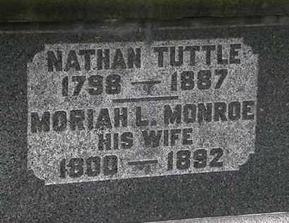TUTTLE, MORIAH L. - Erie County, Ohio | MORIAH L. TUTTLE - Ohio Gravestone Photos