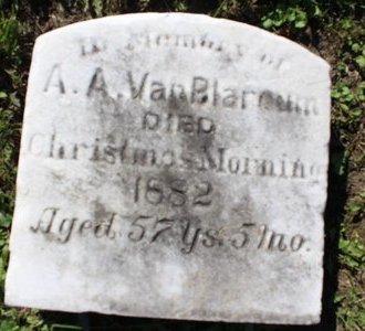 A VANBLARCUM, A - Erie County, Ohio | A A VANBLARCUM - Ohio Gravestone Photos