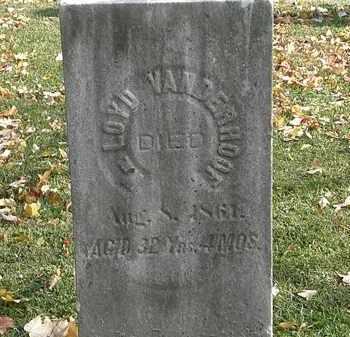 VANDERHOOF, LOYD - Erie County, Ohio   LOYD VANDERHOOF - Ohio Gravestone Photos