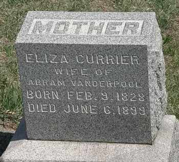 VANDERPOOL, ELIZA - Erie County, Ohio | ELIZA VANDERPOOL - Ohio Gravestone Photos