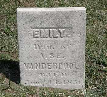 VANDERPOOL, A. - Erie County, Ohio | A. VANDERPOOL - Ohio Gravestone Photos