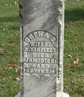 VANFLEET, ORPHA C. - Erie County, Ohio | ORPHA C. VANFLEET - Ohio Gravestone Photos
