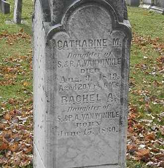 VANWINKLE, CATHARINE M. - Erie County, Ohio | CATHARINE M. VANWINKLE - Ohio Gravestone Photos