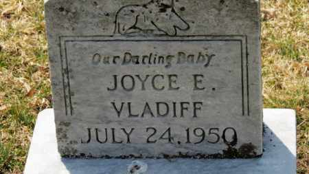 VLADIFF, JOYCE E. - Erie County, Ohio | JOYCE E. VLADIFF - Ohio Gravestone Photos