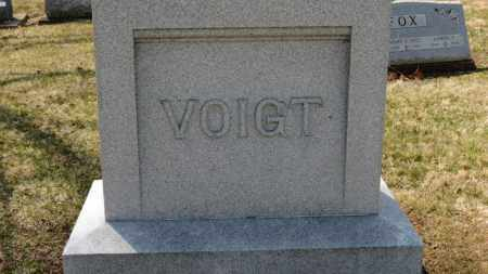 VOIGHT, FAMILY MARKER - Erie County, Ohio | FAMILY MARKER VOIGHT - Ohio Gravestone Photos
