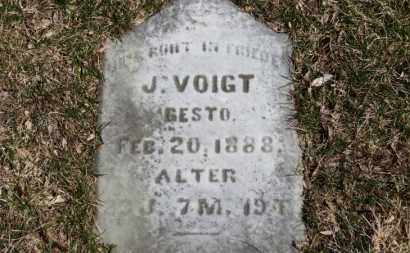 VOIGT, J. - Erie County, Ohio | J. VOIGT - Ohio Gravestone Photos