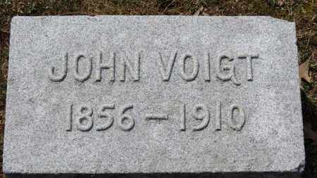 VOIGT, JOHN - Erie County, Ohio | JOHN VOIGT - Ohio Gravestone Photos
