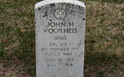 VOORHEIS, JOHN H. - Erie County, Ohio | JOHN H. VOORHEIS - Ohio Gravestone Photos