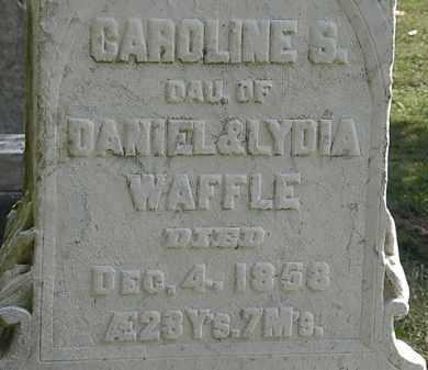 WAFFLE, LYDIA - Erie County, Ohio | LYDIA WAFFLE - Ohio Gravestone Photos