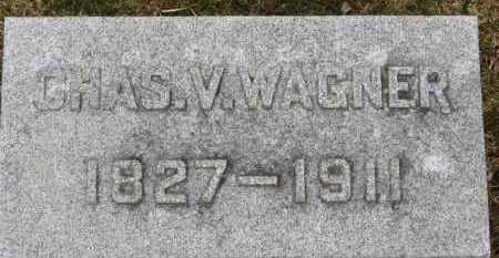WAGNER, CHAS. V. - Erie County, Ohio | CHAS. V. WAGNER - Ohio Gravestone Photos