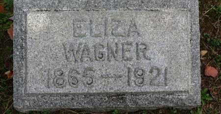 WAGNER, ELIZA - Erie County, Ohio | ELIZA WAGNER - Ohio Gravestone Photos