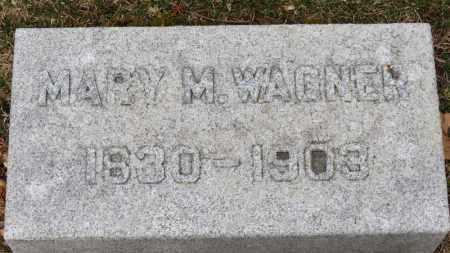 WAGNER, MARY M. - Erie County, Ohio | MARY M. WAGNER - Ohio Gravestone Photos