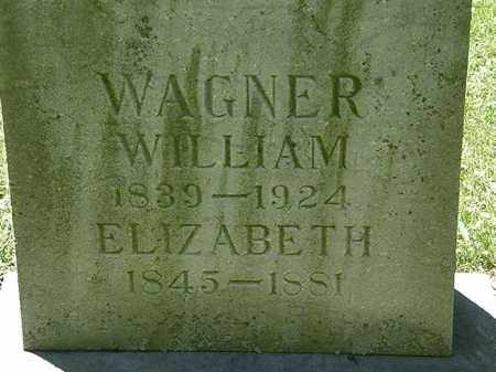 WAGNER, WILLIAM - Erie County, Ohio | WILLIAM WAGNER - Ohio Gravestone Photos
