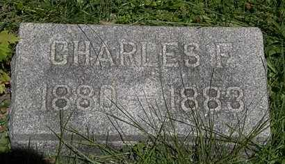 WAHL, CHARLES F. - Erie County, Ohio | CHARLES F. WAHL - Ohio Gravestone Photos